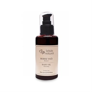 Rose Oil And Sweet Almond Oil Natural Nourishing Baby Oil 100 ml