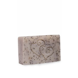 Eucalyptus Oil And Poppy Seed Natural Peeling Soap 100 gr